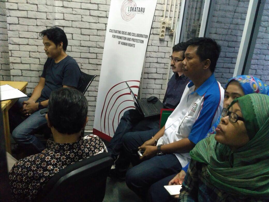 Mediasi pekerja PNRI dengan pihak manajemen PNRI