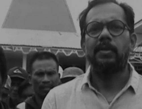 Haris Azhar dan Masyarakat Adat Demo di Kantor Bupati Sumba Timur